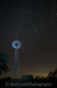 images of stars, images of windmill, night, photo of stars, photos of windmill, pictures of stars, pictures of windmills, rural night images, stars, windmill and stars