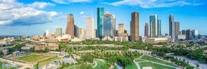 Houston skyline, city of houston, downtown houston, houston texas, buffalo bayou, skyline of houston, Eleanor Tinsley Park, images of houston, houston city, houston tx, houston life, architecture,