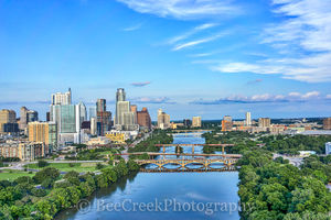 Austin, aerial, skyline, skylines, cityscape cityscapes, city, downtown, cities, urban, modern, architecture, bridges, Lamar, Congress, , austin skylines, austin cityscapes, drone,