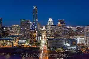 Austin, aerial, skyline, skylines. cityscape, cityscapes, Capital, street, urban, modern, high rise, skyscraper, buildings, downtown, Congress Bridge. Lady Bird Lake, , austin skylines, drone, photogr