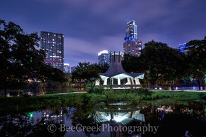Austin, cityscapes, cityscape, skyline, skylines, city, downtown, lady bird lake, auditorium shores, town lake, urban, Vic Mathais shore, Fannie Davis Gazebo, , austin skylines, austin cityscapes