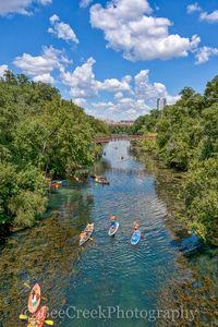 Barton Creeks, Barton springs, sups, kayaks, canoes, swimming, springs,