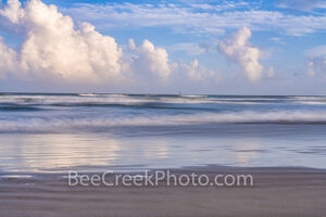port aransas, beach, beach,  clouds, gulf of mexico, port a, sea, ocean, blue, clouds, reflections, reflect, beautiful, pastel, colors, colorful, seascape, beach scene, texas coast, coastal, coastal i