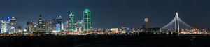 Dallas Cityscape View Pano2