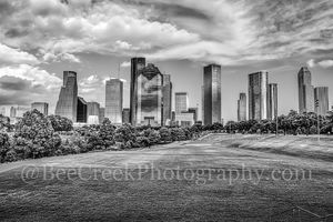 Houston, black and white, bw, city, cityscape, downtown, houston in black and white, skyline, skylines, urban