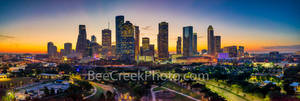 Houston skyline, Houston, skyline, sunrise, Houston, downtown,  aerial, Buffalo Bayou, city of Houston, images of houston, Houston tx, skylines of houston, sunset