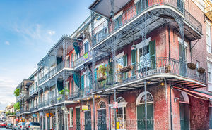 New Orleans cityscapes, architecture,