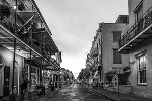 French Quarter, New Orleans, street scene, city, morning, people, bars, streets, louisiana,  downtown, night life,