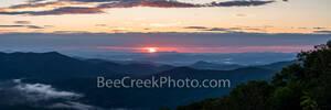 Sunrise, Blue Ridge Mountains, smoky mountains, blue ridge parkway, smoky national park, north carolina, Tennessee, pano, panorama, great smoky mountains, landscape, applachians, mountains, scenic, ov