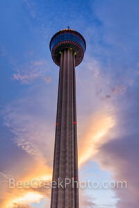 Sunset at Tower of Americas