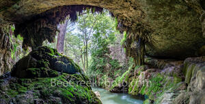 Texas Hill Country Grotto Pano