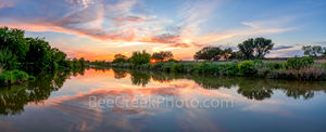Texas Hill Country Sunset, Texas Hill country, sunset, Pedernales river, landscape, panorama, pano, water, river, trees, rurals, rural texas landscape, Colorado river, centrral texas, hill country, Te