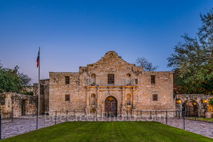 Alamo, San Antonio, Santa Anna, city, cityscape, cityscapes, downtown, dusk, historic, history, landmark, mexico, mission, missions, tourist, twilight, the alamo,