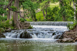 Waterfall Along the Guadalupe River