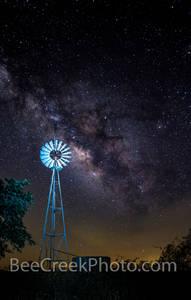 Windmill With Stars