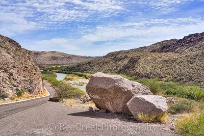 Big Bend State Park, Rio Grande River, Scenic overlook, mexico, river road, usa, boulder,
