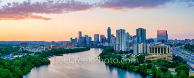 Austin Skyline Dusk Cropped