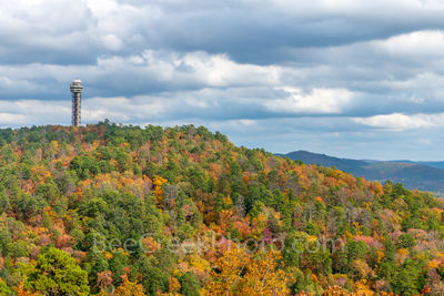 Fall on Tower Mountain