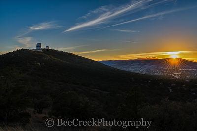McDonald Observatory Sunset