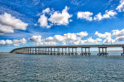 Bridge to Padre Island, Padre Island, Port Isabell, Queen Isabella Causeway, South Padre Island, Texas beach, Texas bridge, beach, bridge with water, coast, coastal landscapes, fishing, island, ocean,