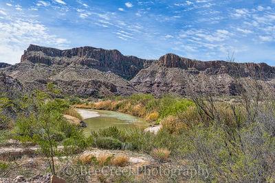 Big Bend State Park, Rio Grande River, River, clouds, landscape, scenic, view