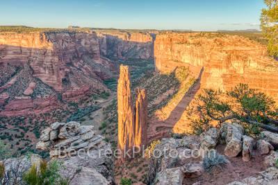 Spider Rock View