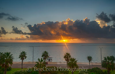 Sunrise in Corpus Bay