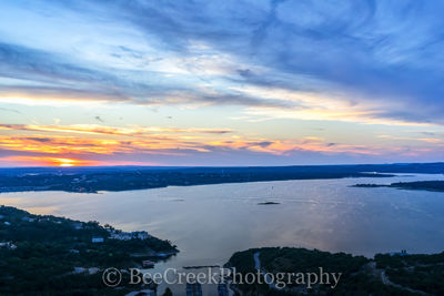 Austin, Lake Travis, Oasis, boat, clouds, colors, glow, heavenly, orange, radiated, rays, scenic, spectactular, sunset, landscape,