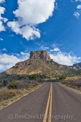 Big Bend National Park, Casa Grande, Chiso mountains, texas landscape,