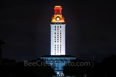 Austin, UT, UT Tower, win, University of Texas, orange tower, downtown, cityscape, football, landmark, images of austin, images of texas,