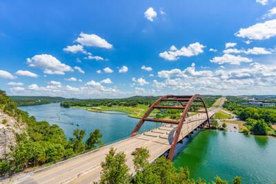 austin pennybacker overlook, austin 360 bridge, pennybacker bridge, capitol of texas highway, texas hill country, lake austin, austin texas, capitol of texas hwy,  texas, colorado river, rivers, 360 b
