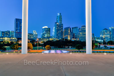 Austin Long Center Twilight