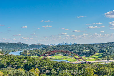 360 overlook, Austin, city, skyline, bridge, penny backer bridge, Austin 360 bridge, urban, river, landscape, water, Texas, downtown, scenic, Pennybacker Bridge, Austin, city landscapes, bridge, photo
