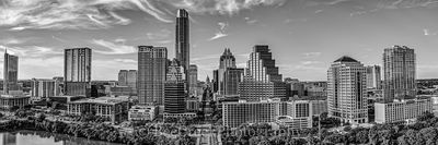 Austin, aerial, downtown, skyline, over Austin, city, cityscape, architecture, Congress Ave, high-rise, buildings, Frost, Austonian, Marriott, Four Season Hotel, Ashton, W Hotel, 360 Condos, One Congr