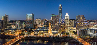 Austin, aerial, skyline, skylines, cityscape, cityscapes, Congress bridge, First Street bridge, downtown, skyscrapers, high rise, Frost, Austonian, W, 360 Condos, Lady Bird Lake, river, water, drone,
