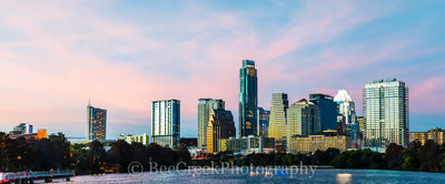 Austin, skyline, cityscape, sunset, clouds, pink skies, downtown, shoreline, lady bird lake, urban, modern, images of austin, , austin skylines, austin cityscapes