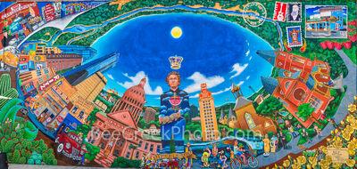 Austin Texas Austintatious Mural