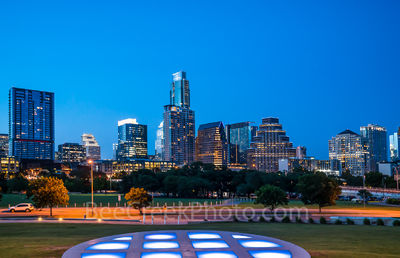 Austin Twilight Skyline