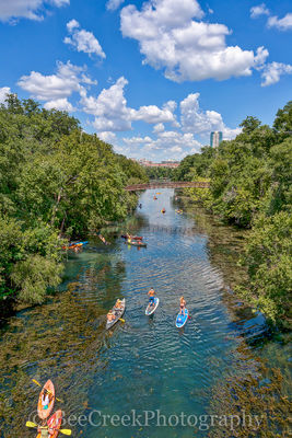 Barton Creeks, Barton springs, sups, kayaks, canoes, swimming, springs,