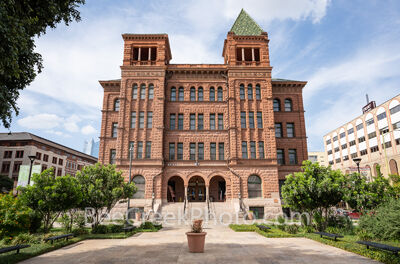 bexar county courthouse, san antonio, san antonio courthouse, downtown san antonio, texas, city of san antonio, renovation, courthouse, courtroom, vintage, romanesque revival, red sandstone, building,