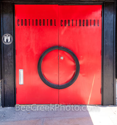 Continental Club Doors