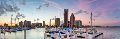 Corpus Christi, Texas Coast, bay, beach, boats, sunset, clouds, coastal, colorful skies, dock, dusk, gulf of mexico, landscape, marina, nautical, oceanscape, panorama, sailboats, seas