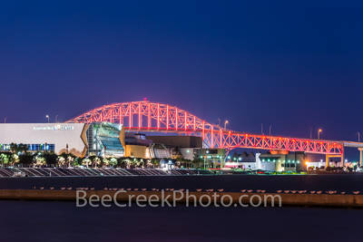 American Bank Center, Corpus Christi, bay, city, cityscape, harbor bridge, ocean, seascape, seawall, gulf cost images, Texas beaches