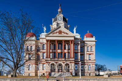 Coryell County Courthouse - Gatesville Texas