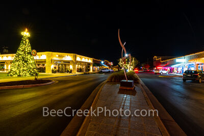 texas hill country, marble falls, hill country, christmas, downtown, christmas lights, christmas tree, holiday lights, holidays, town, downtown marble falls,