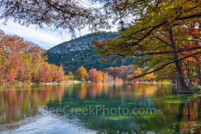 Fall at Garner State Park