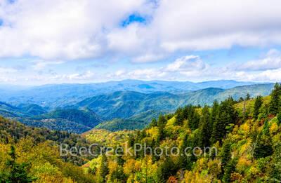 Fall Smoky Mountain Scenery