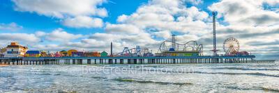 Galveston Pleaure Pier Panorama