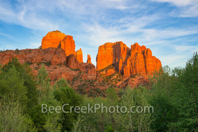 Glow at Cathedral Rock