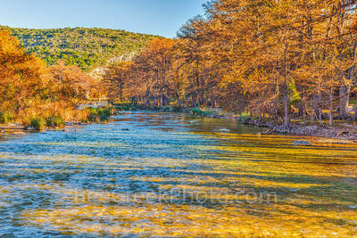 Concan, Texas Hill Country, River, clear, colors, cool, cypress, fall, flowing, landscape, landscapes, orange, rocks, rural, rural landscape, rural landscapes, scenic Texa, texas landscape, golden, co